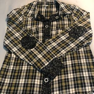BKE Flannel Snap-Front Shirt